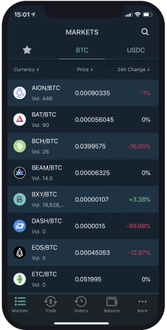 exchange mobile app image
