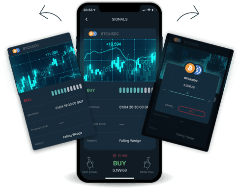 A Revolutionary Swipe-Based Trading App